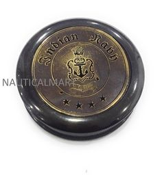 LOT OF 30 UNITS BRASS COMPASS FOR KEY CHAIN NAUTICAL INSTRUMENT MARINE GIFT PROP