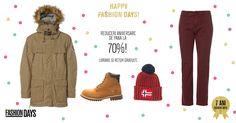 Happy Fashion Business Days, astazi, 16 decembrie cu reduceri aniversare de pana la -70%. Cumpara prin Cashback Shopping si primesti inapoi 4% din valoarea cumparaturilor, GARANTAT! Transport si retur GRATUIT! #fashiondays #reduceri #aniversare #ideidecadouri #cashback #cumparaturionline #economisestibani #primestibani #baniinapoidincumparaturi