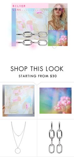 Silver Link.......... by neotericstudio on Polyvore featuring Alexander Wang, Botkier and Blume