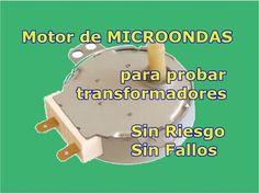 TutoBreve. Motor microondas para medir transformadores - YouTube