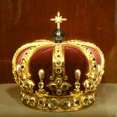 Crown of William II  The Crown of William II, also known as the Hohenzollern Crown, is the 1888 crown made for William II, Emperor of Germany, in his role as King of Prussia. A Crown of the German Empire was never made. It was only used for heraldic purposes.