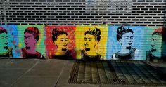 olheosmuros:  Frida em Dublin, Irlanda