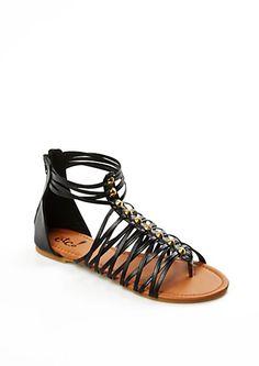 Cone-Studded Gladiator Sandal | rue21