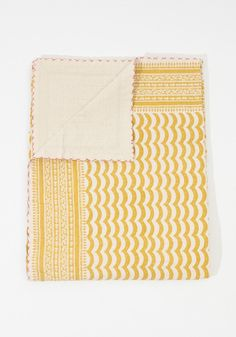 This hand-quilted blanketis not only beautiful but extremely soft and…