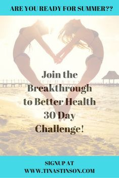 FREE BREAKTHROUGH TO BETTER HEALTH 30 DAY CHALLENGE