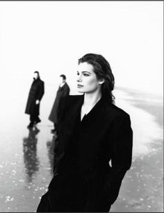 Vogue FR - Cordula Reyer - Le Touquet - May 1989