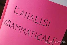 Esercizi di analisi grammaticale con soluzioni