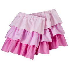 Circo® Triple Ruffle Solid Crib Skirt - $24.99