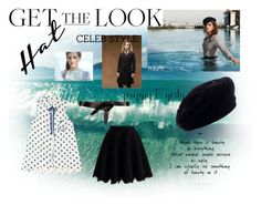 """""""Get The Look : Emma Watson"""" by ladybugsandcats ❤ liked on Polyvore featuring Emma Watson, Yves Saint Laurent, Étoile Isabel Marant, Chicwish, GetTheLook and hats"""
