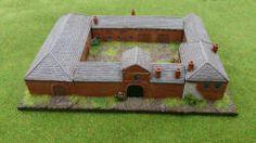 Leven Miniatures - 6mm resin buildings - napoleonic