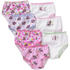 Disney - Toddler Girls' Minnie Mouse Underwear, 7-Pack