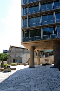 UNESCO Headquarters, Paris by French Disko, via Flickr