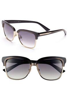 Gucci 55mm Retro Sunglasses   Nordstrom