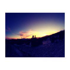 Font-Romeu / Cerdagne / Sunset ⛄️