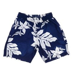 Miniman Hawaii Shorts in Navy/White on mysale.com