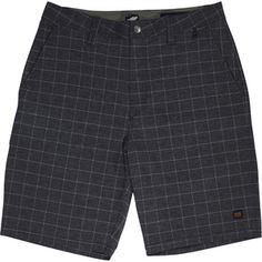 Men's Plaid-Apus Surf-n-Turf Hybrid Shorts