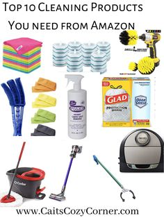 Is your home a horrible mess? Are you currently overwhelmed with clutter but do not know how to start cleaning your home? These step by step tips will help you clean your house in only 1 day! Car Blinds, Clean Window Blinds, Green Cleaning, House Cleaning Tips, Cleaning Hacks, Carpet Spot Remover, Spin Mop, Drill Brush, Cleaning Blinds