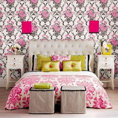 Choque Patrón | Dormitorio | GALERIA DE FOTOS | Ideal Home | Housetohome