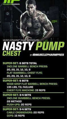 Muscle pharm workout