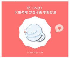 十二支の特性   大阪 算命学 占い師 ねうし まり の占いサイト 恋愛相性 仕事運勢 Zodiac Signs Characteristics