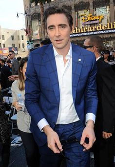 Holy Mother of Middle Earth!! #LeePace y'all.  Hollywood Walk of Fame ceremony for Peter Jackson, Dec. 8, 2014.