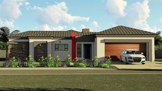 3 Bedroom House Plan – My Building Plans South Africa My Building, Building Plans, Architect Fees, Construction Drawings, Marketing Budget, Double Garage, Bedroom House Plans, Garage House, Windows And Doors