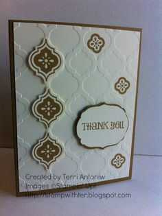 Stamp with Ter: New Catalogue Card Buffet Mosaic Madness, New Catalogue, August 15, Hexagons, Card Designs, Mosaics, Cardmaking, Stamping, Buffet