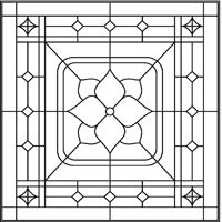 stained glass patterns for free: Stained glass flower patterns - Cool Glass Art Designs Stained Glass Patterns Free, Stained Glass Quilt, Stained Glass Flowers, Faux Stained Glass, Stained Glass Designs, Stained Glass Panels, Stained Glass Projects, Leaded Glass, Mosaic Patterns