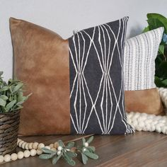 Body Pillow Throw Pillows Body Support Pillow Sciatica Support Pillow Best Supportive Pillow For Side Sleepers Leather Throw Pillows, Fall Pillows, Leather Pillow, Boho Pillows, Colorful Throw Pillows, Modern Throw Pillows, Couch Pillows, Modern Decorative Pillows, Decorative Fireplace