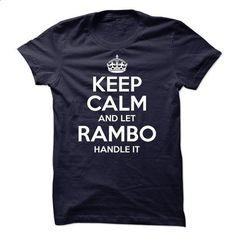RAMBO-Let RAMBO Handle it - #gift bags #shirts