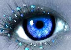 blue droplets,