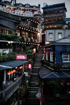 Stairs, Taipei, Taiwan photo via hack