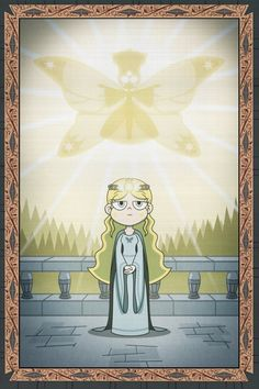 """""""With hunger and disease the Strange Queen has ended, Through the soups and spells she always defended """" I'll summarize her story in topics: - Daughter of Skywynne, Queen of the Hours, Soupina had ..."""