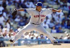 New York Mets starting pitcher Johan Santana