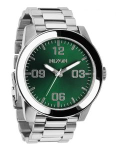 43e02ca197d44 Buy Corporal SS Watch - Green Sunray by Nixon from our Accessories range -  Greens