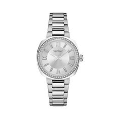 Bulova Womens Quartz Stainless Steel Casual Watch ColorSilverToned Model 43L195 * Check this awesome product by going to the link at the image.