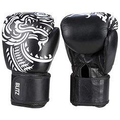 Discounted Blitz Firepower Muay Thai Leather Boxing Gloves #BlitzFirepowerMuayThaiLeatherBoxingGloves Short Muay Thai, Heavy Bag Workout, Kickboxing Gloves, Sparring Gloves, Mma Gloves, Martial Arts Training, Fingerless Mitts, Punching Bag, Leather Gloves