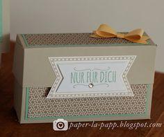 """paper-la-papp - Stempeln & mehr in NRW!: Tutorial """"Gift Box"""""""