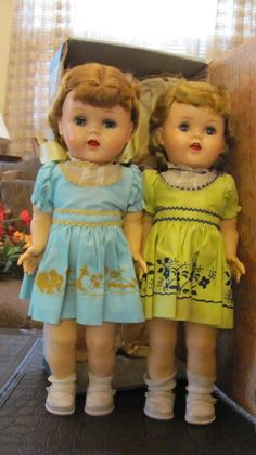 Vintage Saucy Walker Dolls