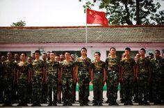 Chinesische Erziehungslager: Internet-Entwöhnung mit Methode