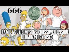 Simpsons & Family Guy Crossover Illuminati Episode EXPOSED! Satanic Agen...