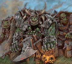 warhammer fantasy orcs logo - Google Search