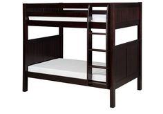 Camaflexi Bunk Bed - Panel Headboard - Cappuccino Finish - C922_CP