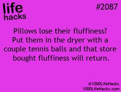 How to make Pillows Fluffy. Awesome Life Hacks Everyone Should Try | 22 Words