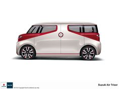 The 2015 Tokyo Motor Show gets underway later this month and automakers are busying themselves revealing and previewing planned premieres. Suzuki will show multiple concepts, including a roomy minivan that clearly borrows some inspiration from the Volkswagen Bulli.