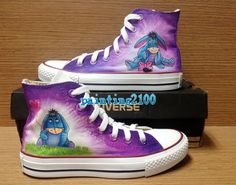 Eeyore shoes,Custom Converse,Hand painted shoes,Birthday gifts,Custom Kids Converse by Painting2100 on Etsy https://www.etsy.com/listing/232781403/eeyore-shoescustom-conversehand-painted