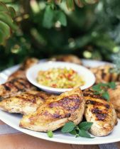 Grilled Chicken Breast - Middle East flavors