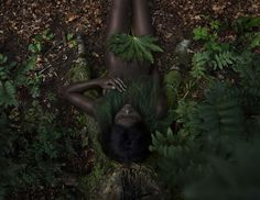 """pathlesspagan: """" """" brownsugarmagick: """"The Green Gallery - Styling Lidewij Smeur, Photography Sanne van Rozendaal """" Mother Earth. Children Of The Forest, The Last Witch, Witch Doctor, American Gods, Tumblr, Organic Plants, Gotham City, Look At You, Organic Beauty"""