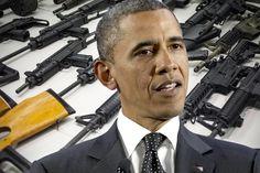 Barrack Obama gun control