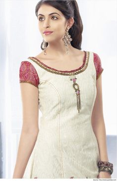 Cotton Salwar Kameez Neck Designs | Salwar Neck Pattern